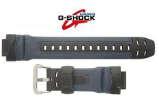 Casio GENUINE Watch Band G-315RL-2A Black & BLUE Nylon Resin G-Shock G-315RL