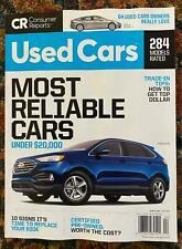 Consumer Reports Buying Guide Cars Trucks SUVs 284 Models April 2020