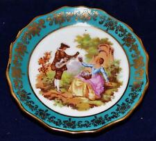 "Limoges France - 4"" Decorative Dish - Lovers"