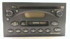 Original 2000-2003 Saturn ION VUE L&S Radio CD Kassetten Spieler  # 22684453