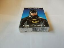 BATMAN RETURNS PLAYING CARDS 1992 Brand New Factory Sealed