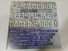Various - Re-machined a Tribute to Deep Purple's Machine Head LP Eagle Record
