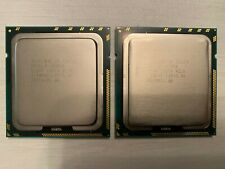2 x INTEL XEON E5620 2.40 QUAD CORE 1366 12MB cache DUAL SOCKET