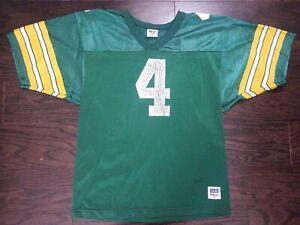 Vintage Brett Favre #4 Green Bay Packers NFL Football Wilson Jersey RARE Youth L