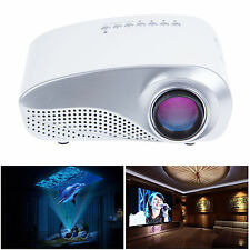 Mini Home Theater LED LCD Video Projector USB/VGA/AV/HDMI/SD For iPhone 6 5S 5C