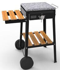 Barbecue Bio Cooking a gas 1 fuoco Ferraboli 61 pietra lavica 37 x 37 cm - Rotex