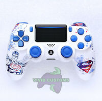 Custom PlayStation 4 Version 2 Dualshock Controller PS4 Slim/Pro Superman V2