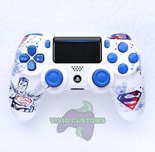 Custom PlayStation 4 Version 2 Dualshock Controller PS4 Slim/Pro Superman V2