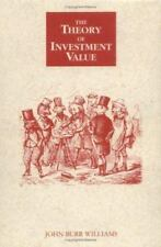 The Theory of Investment Value by John B. Williams (1997, Paperback, Reprint)