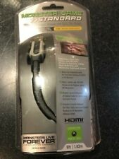 """Monster Cable """"Game Standard"""" XBOX 360 HDMI Cable 6'"""