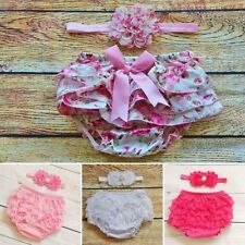 Conjuntos de ropa de rosa de poliéster para niñas de 0 a 24 meses