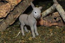 "Donkey Foal Animal Figurine for 3.5"" Nativity Farm Presepio Pesebre Burro"