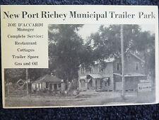 1940's Municipal Trailer Park New Port Richey, Fl Florida PC