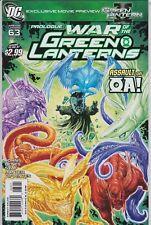 GREEN LANTERN #63 APRIL 2011 DC COMIC BOOKS