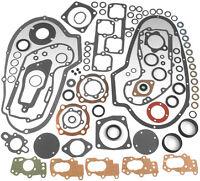 Motor Gasket Kit w//rubber washers 72-Early 73 Ironhead Sportster 1000cc 17026-72