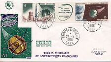 FDC / T.A.A.F. TERRES AUSTRALES TIMBRE PA N° 11A SATELLITE HAMMAGUIR / KERGUELEN