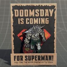 DC Comics Doomsday Enamel Pin