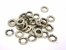 30 Pcs - 15mm Tibetan Silver Believe Rings Charms Jewellery Pendant Craft T107