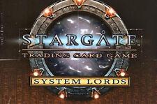 STARGATE TCG CCG SYSTEM LORDS Teamwork #138 New Guy! #252
