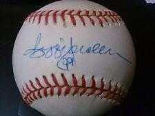 Reggie Jackson Autographed Ball Signed on Sweet Spot JSA COA P03040