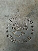 Vintage Guardian Service Cookware Cast Aluminum Hammered Pot Bowl