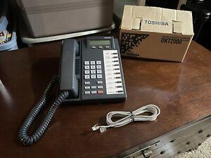 Toshiba DKT 2010 SD Phone (New Open Box)