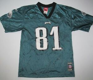 Youth Kids Boy's Girl's Terrell Owens Philadelphia Eagles NFL Jersey Size 14-16