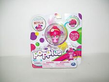Bubbles Popples Pop Roll Toy Figure Hot Pink New