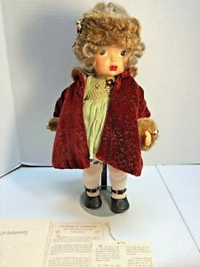 Vintage Terri Lee Doll in Winter Coat Artist Edition Outfit # 203 of 500