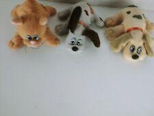 Vintage Tonka 2 Pound Puppies & pond kitty Puppy Plush Stuffed Toy