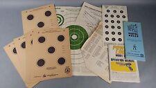 Vintage Gun Target Shooting Manuals Papers NRA