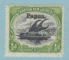 PAPUA 11 LARGE OVPT  MINT HINGED OG * NO FAULTS EXTRA FINE !