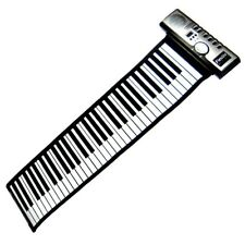 Portable Roll-Up 61 MIDI Soft Key Flexible Electronic Piano Keyboard Music