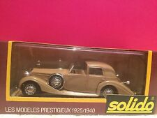 SOLIDO n°1151 ANCIEN SUPERBE DELAGE D8 120 1939 COUPE VILLE NEUF BOITE 1/43 A5