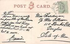 Douglas, Isle of Man, Miss Hardman,Ellison, Bucks Road, c 1906, smoking,qq1308