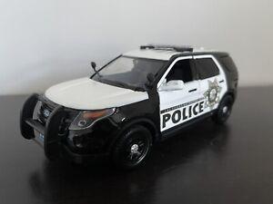 1/24 Motormax Las Vegas Police Custom Ford Interceptor Utility Explorer