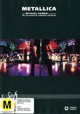 METALLICA S&M Live w/ San Francisco Symphony Orchestra 2DVD NEW PAL R 2 3 4 5 6