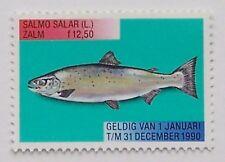 Netherlands 1990 - Fish stamp Salmon MNH