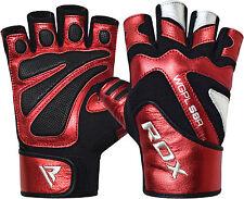 RDX fitness guantes halterofilia Sports Training Gym entrenamiento de fuerza