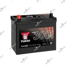 Batterie auto, voiture YBX3057 12V 45Ah 400A Yuasa 238x129x223mm B33 B34