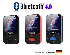 MP3 Player Bluetooth 16 GB,Clip,Sport Player,FM Radio,100 St Wiedergabe,RUIZU 52
