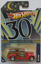 2011 Hot Wheels CARS of the DECADES The 30's '37 Ford 2/32