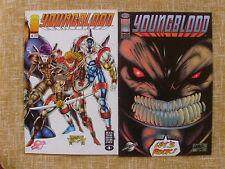 Comics,Youngblood,#5 y #6,Image,World Comics,Planeta DeAgostini,Rob Liefeld,1994