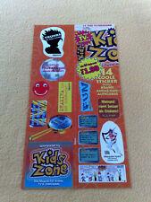 Sticker Sammelsticker Anime Stickerbogen Pokemon Hamtaro Kids Zone 17/02