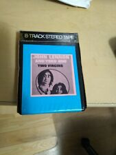 Lennon & Ono: Unfinished Music No. 1 Two Virgins ORBIT 8 Track W/Sleeve BEATLES