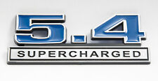 5.4 Supercharged Mustang GT500 Ford F150 F250 Emblem in Blue