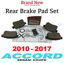 2010- 2017 Honda ACCORD SEDAN/ COUPE Genuine Factory OEM Rear Brake Pad Set