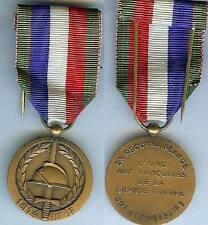 Médaille  - Médaille UNC 1978 60° anniversaire en reconnaissance