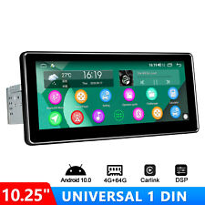 Android 10 Car Stereo Joying 10.25 Single Din with Built-in Dsp 4G WiFi Gps Fm