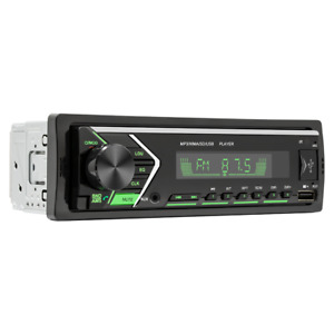 Car Stero FM Stereo Radio Player Bluetooth MP3 USB AUX With Remote Control 1 din